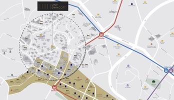One Draycott Location Map Thumbnail Singapore